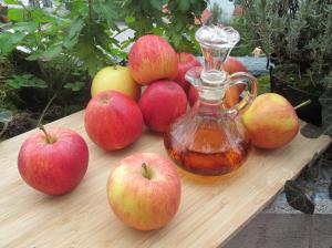 Hujšanje z jabolčnim kisom